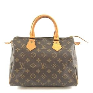 Speedy Monogram Canvas Satchel